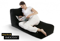 Smoothy Sitzsack Lounge Daybed Midnight-Black