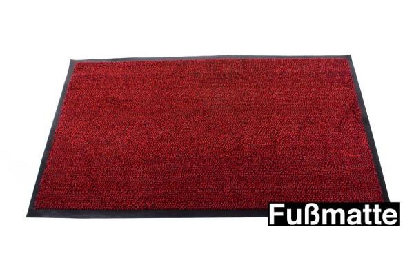 Fußmatte - Klassischer Fußabtreter aus Gummi 85 x 60 cm