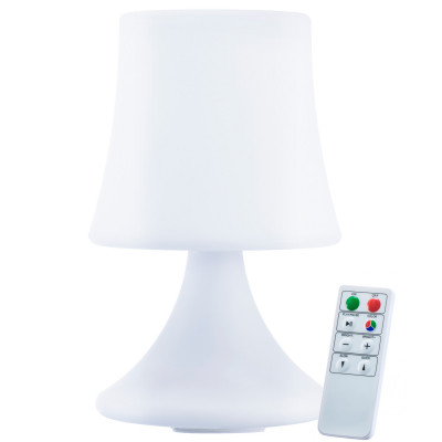 Luneos LED Designerleuchte - wasserfeste Akku Lampe