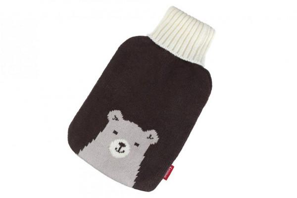Wärmflaschen Bezug mit Bär