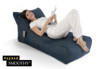 Smoothy Sitzsack - Sitzkissen Lounge Daybed - Indigo-Blau