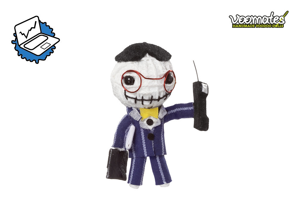 Voodoo Puppe Wall(ter) Street Banker Voomates Doll