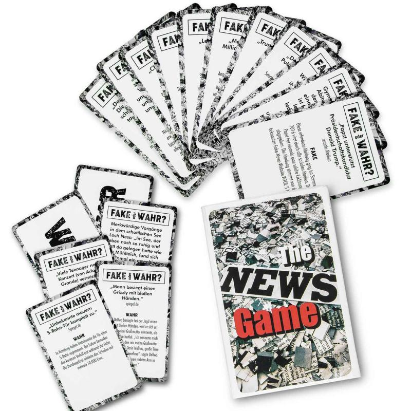 Fake News Game Kartenspiel