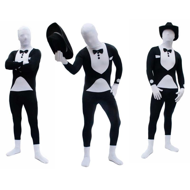 Morph Smoking Suit Ganzkörperanzug Tuxedo