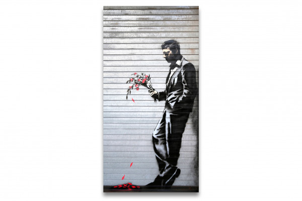 Banksy Leinwand Bild