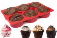 Silikon Muffinform: Backform für gefüllte Muffins & Cupcakes