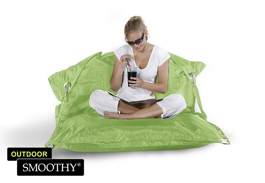 smoothy sitzsack outdoor supreme in limetten gr n. Black Bedroom Furniture Sets. Home Design Ideas
