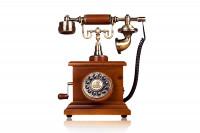 Antikes Nostalgie Telefon mit Kurbel » 24h Blitzversand!