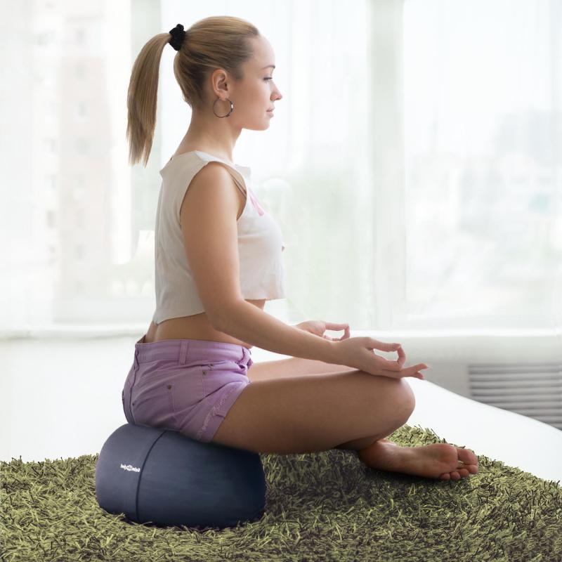 Yoga Meditationskissen - Yogakissen für korrekte Ausführung & Meditation