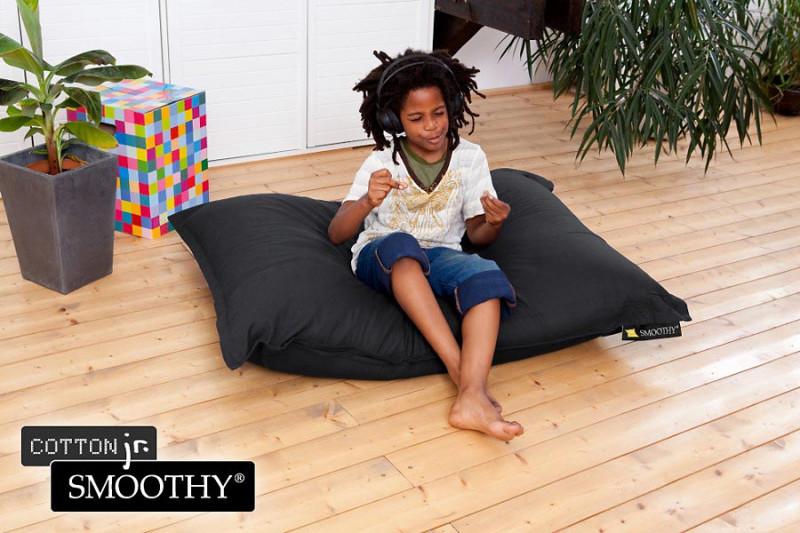 schwarzer Kinder Sitzsack