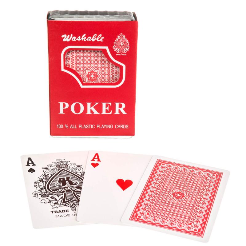 Pokerkarten 100% unzerstörbare aus Plastik
