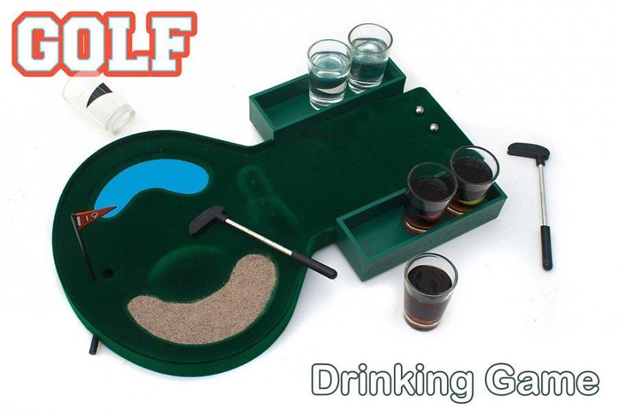 Trinkspiel Golf Saufspiel für Erwachsene
