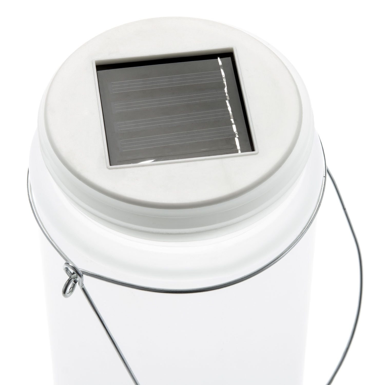solarlampe im einmachglas led solarleuchte im glas. Black Bedroom Furniture Sets. Home Design Ideas