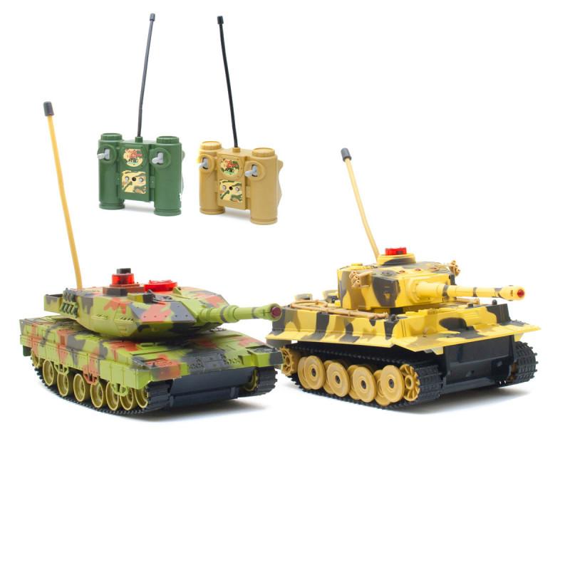 Infrarot RC Panzer Set mit Kampfmodus