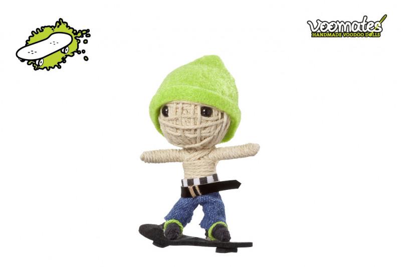 Voomates Kickflip Ollie Voodoopuppe