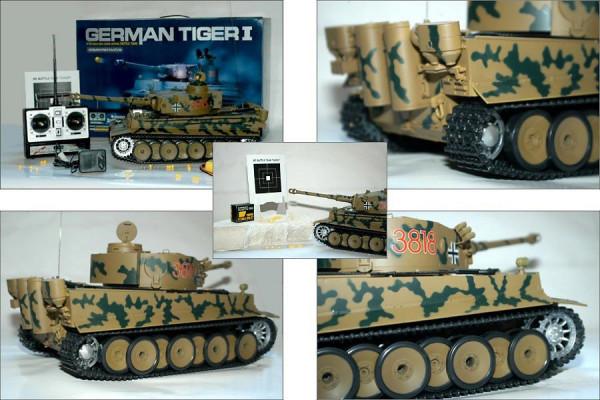 RC Modellbau Panzer Tiger Tank 1:16 Modellbau mit vielen Funktionen