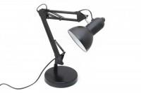 Schreibtischlampe mit Gelenk: Tischleuchte aus Metall