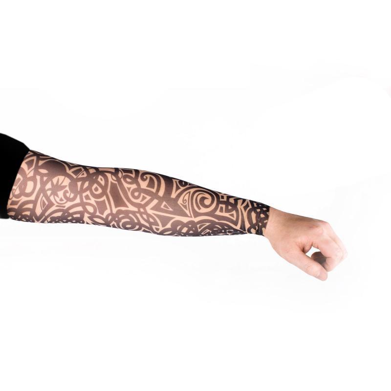 Tattoo Ärmel - Tattooärmel für Karneval & Party - Floral Tribal