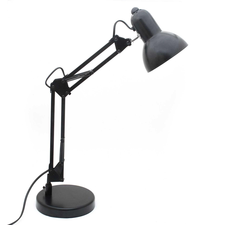 schreibtischlampe mit gelenk tischleuchte aus metall. Black Bedroom Furniture Sets. Home Design Ideas