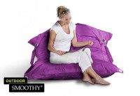 Smoothy Sitzsack Outdoor Supreme in Amethyst-Violett