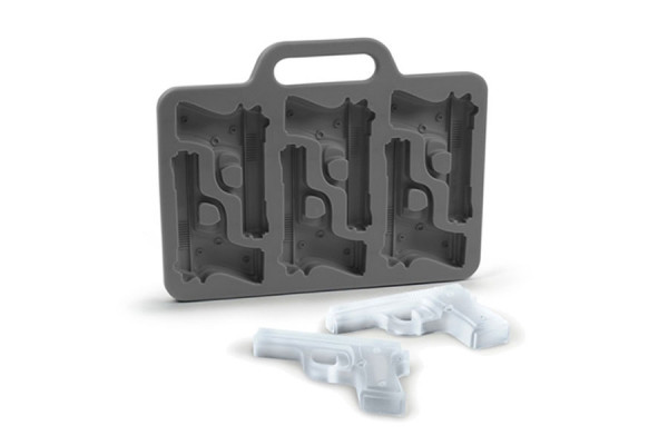 Pistolen Eiswürfelform Revolver Eiswürfel Gun