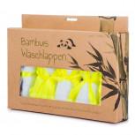 Bambus Waschlappen Set - 5 Baby Handtüchern aus Bambusfaser