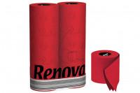 Rotes Toilettenpapier » 6 Rollen Renova Klopapier Rot