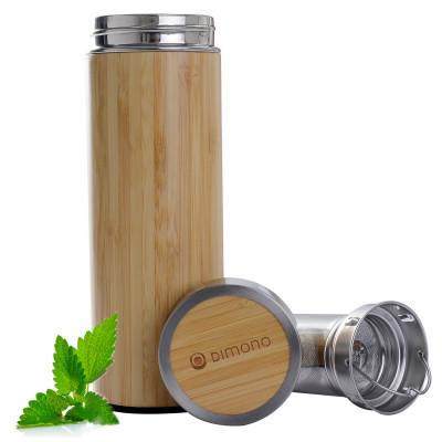 Bambus Thermo-Vakuum-Tasse 500ml