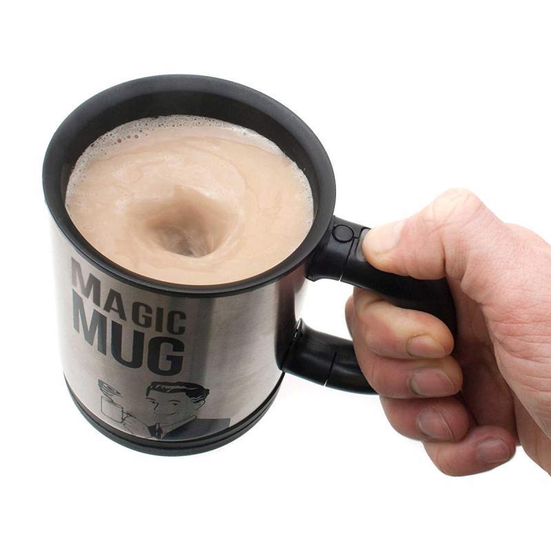 Selbstrührende Tasse für Lazy People