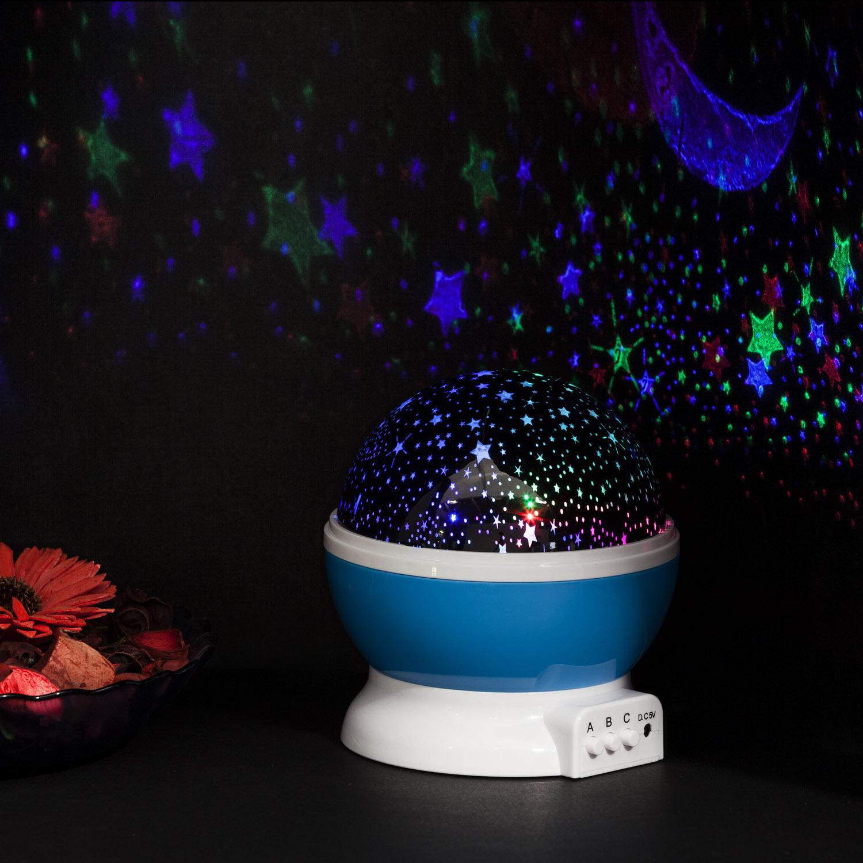 led star light sternen projektor als sternen led nachtlicht. Black Bedroom Furniture Sets. Home Design Ideas