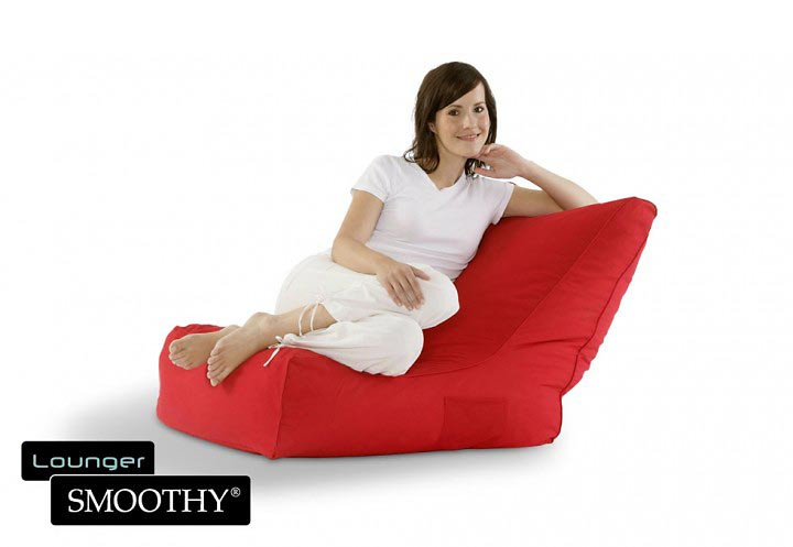 Smoothy Sitzsack Sessel rot