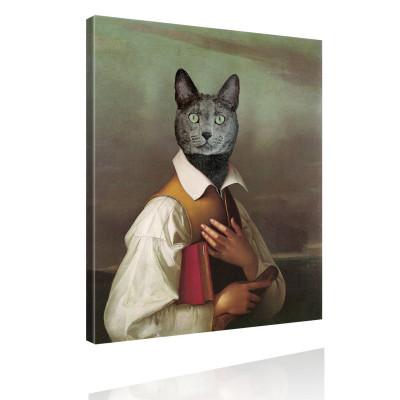 Kunstdruck - Klassisches Gemälde mit Twist - Lebemann von Katz
