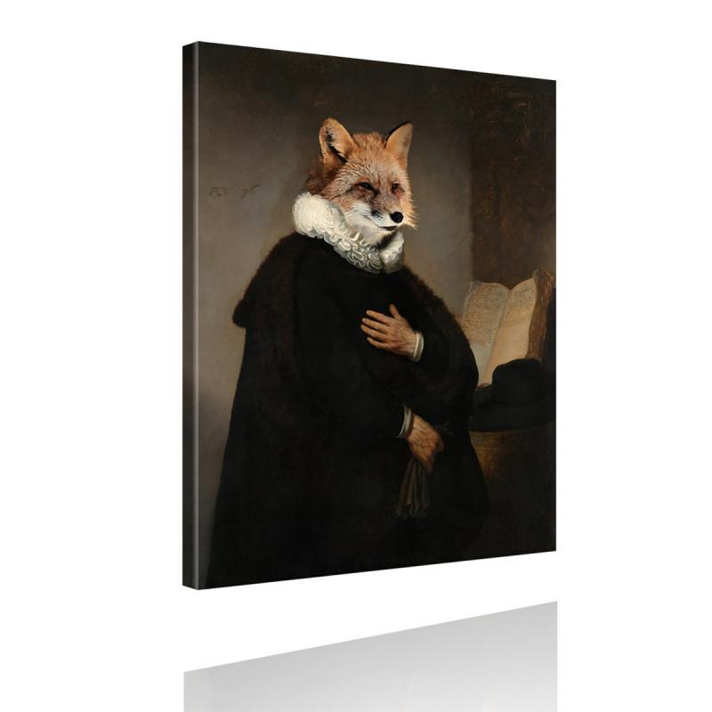 Tierportrait Kardinal von Fuchs