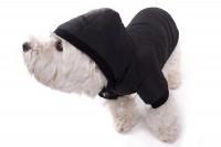 Hundemantel - schwarzer Mantel für Hunde » günstig kaufen!