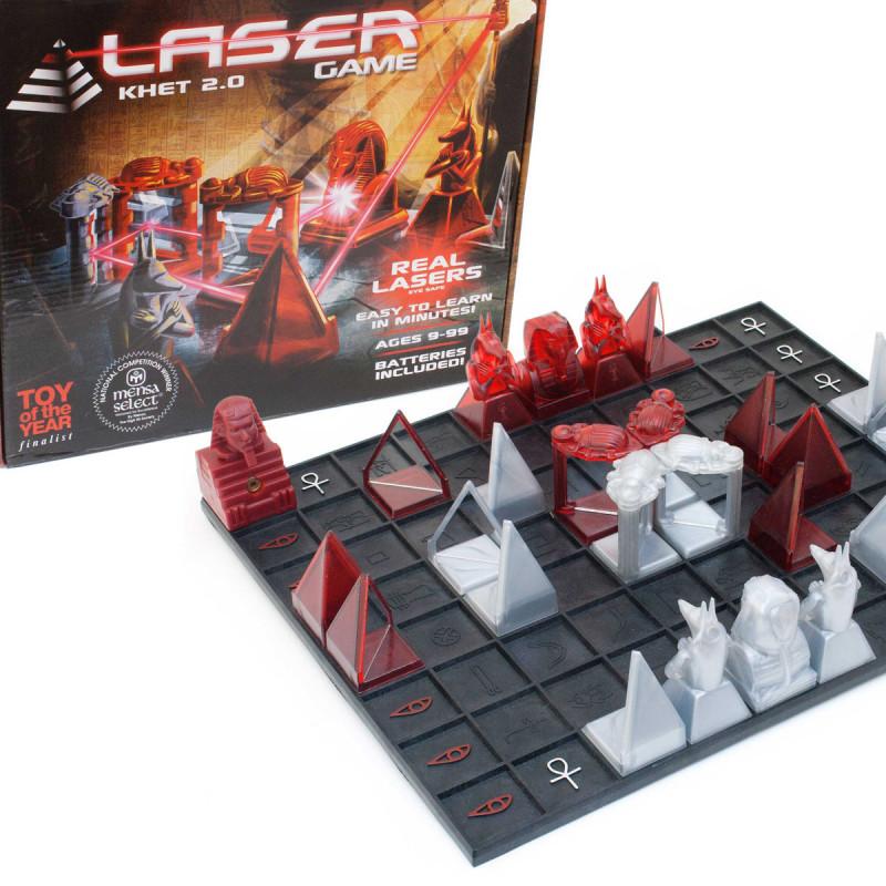 Khet Laser Spiel 2.0 Schach mit Lasern
