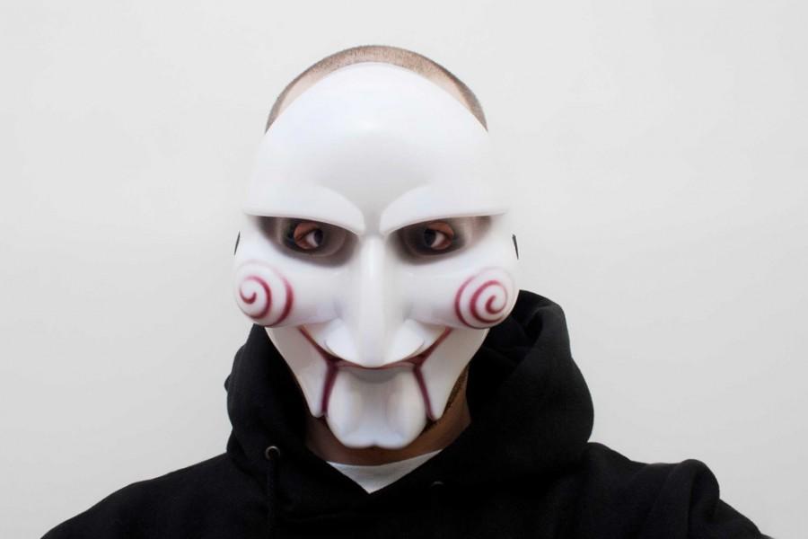 Jig Saw Maske Horror Halloween Killer Mask günstig kaufen