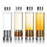 Dimono Trinkflasche 600ml - Wasserflasche mit Edelstahl Filter