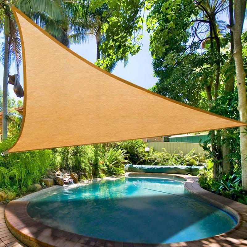 Sonnensegel - Sonnenschutz-Segel Dreieck XXL