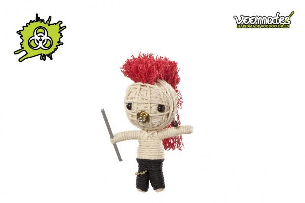 Voodoo Puppe Eco Warrior Öko-Krieger Voomates Doll