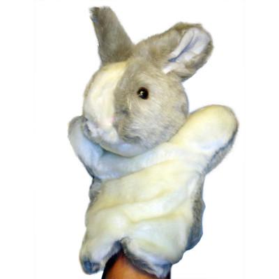 Handpuppe - Handspielpuppe aus Plüsch - Hase