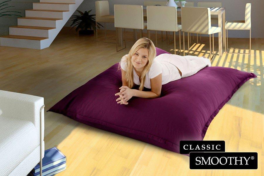 sitzsack classic cotton grijzemuren. Black Bedroom Furniture Sets. Home Design Ideas