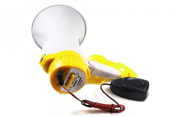 Megafon mit Mikrofon und Aufnahme - Megaphone mit 15 Watt