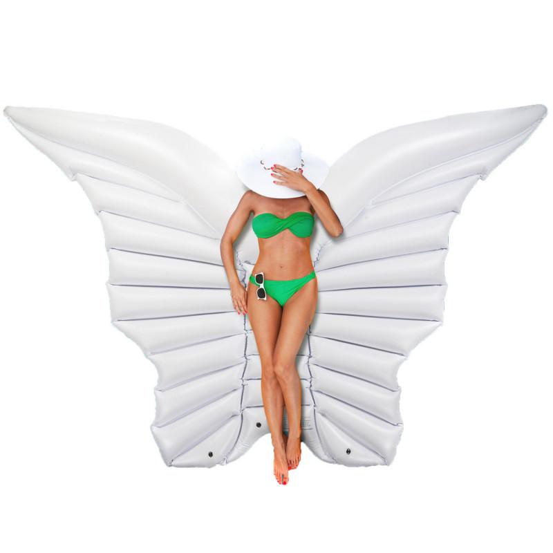 Luftmatratze - Aufblasbare Matratze - Schmetterling