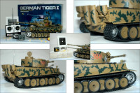 RC Modellbau Panzer Tiger Tank 1:16 Modellbau  » 24h Versand!