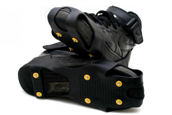 Schuh-Spikes Eiskrallen – einfach über die Schuhe ziehen