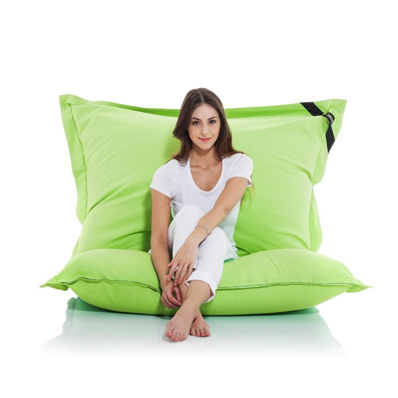 Smoothy Sitzsack grün