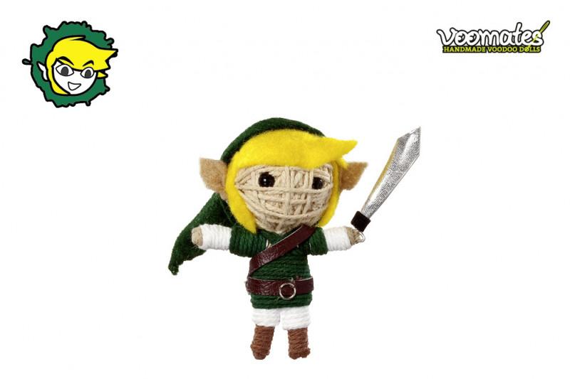Voomates Elf Warrior Voodoopuppe