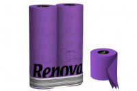 Lila Toilettenpapier » 6 Rollen Renova Klopapier violett