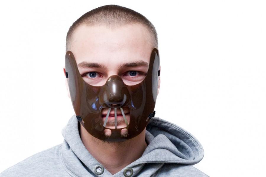 Hannibal Maske Beißer Horror Maske für Halloween Karneval