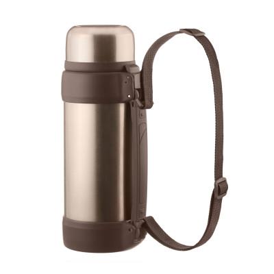 Isolierflasche Thermoskanne 2 Liter mit Vakuum-Verschluss